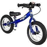 """BIKESTAR Bicicleta sin pedales para niños ★ 12 pulgadas ★ Color Azul ★ A partir de 3-4 años ★ 12"""" Sport Edition 2018"""