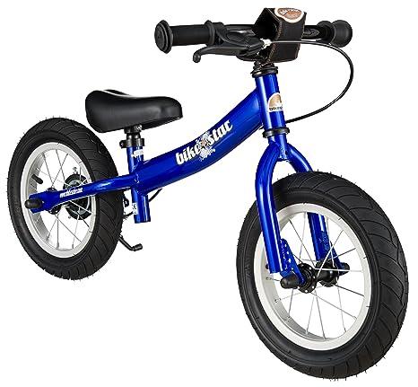 BIKESTAR - Bicicleta de Equilibrio para niños a Partir de 3 años, con Soporte Lateral