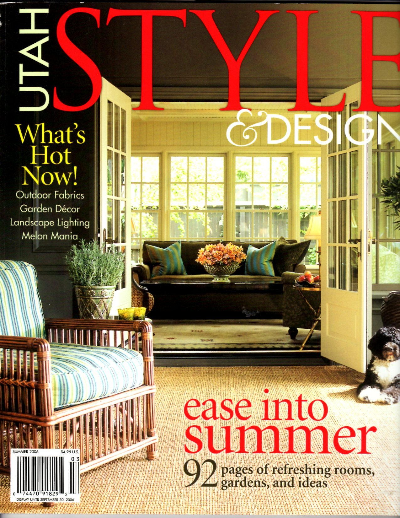 Utah Style And Design.Utah Style And Design Brad Mee Outdoor Fabrics Garden