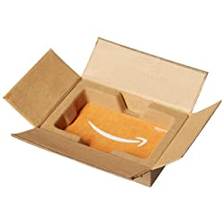 Amazon.ca $50 Gift Card in a Mini Amazon Shipping Box (Birthday Icons Card Design) link image