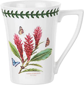 Portmeirion Exotic Botanic Garden Mandarin Mug with Red Ginger Motif