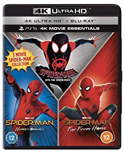 Spider-Man: Far From Home / Homecoming / Into The Spider-Verse - Amazon Excl. (6 Discs - UHD & BD) [Blu-ray] [2020]