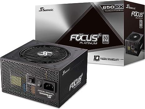Seasonic Focus Plus 650 Watt Platinum Netzteil Für Computer Zubehör