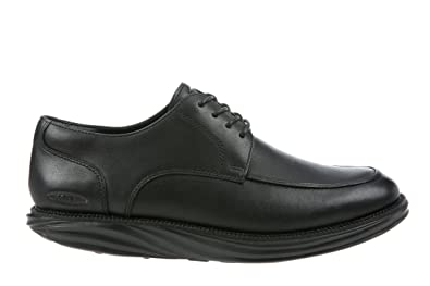 MBT Shoes Men's Boston Lace Up Dress Shoe: Black/Nappa 11 Medium (D