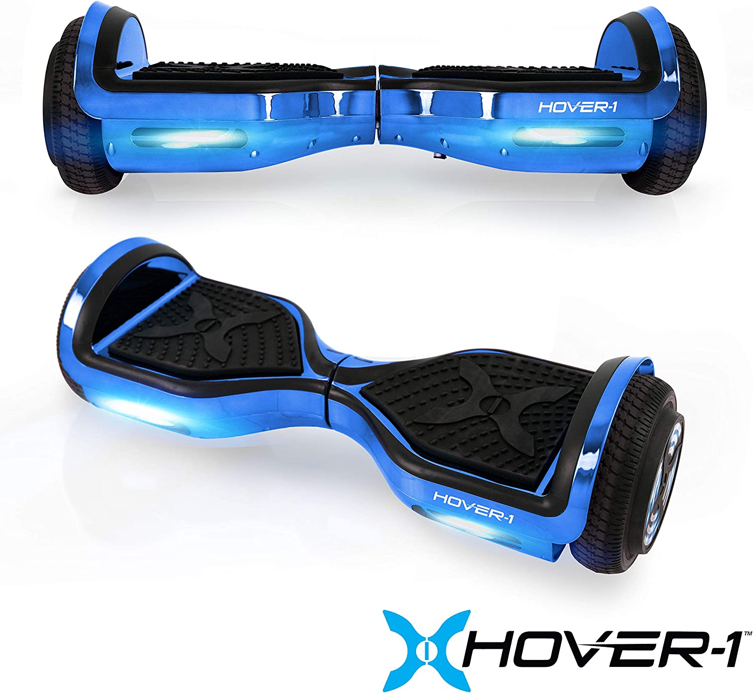 Hover-1 Chrome Electric Hoverboard Scooter Blue - 3
