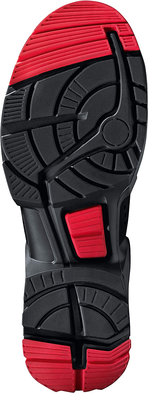 Uvex 1 X-tended Support, Chaussures de Travail Homme Noir
