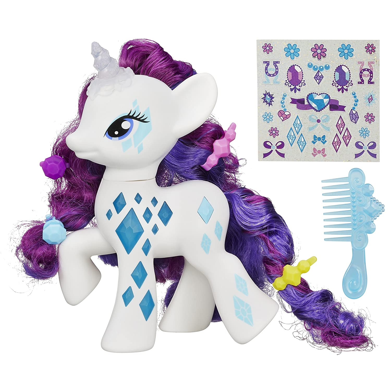 My Little Pony Friendship Magic Glamour Glow Rarity