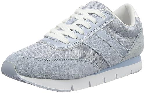 Calvin Klein Jeans RE9267, Zapatillas Mujer, Azul (Chc), 35 EU: Amazon.es: Zapatos y complementos