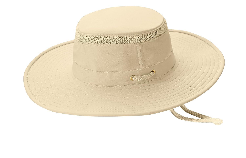 Tilley LTM2 Broadest Brim Lightweight Airflo Hat - Natural - 7 3 8 at  Amazon Men s Clothing store  Sun Hats 989954a143fc
