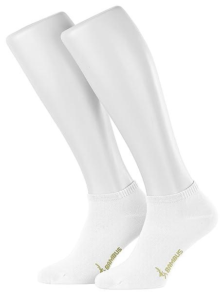 Tobeni 6 Pares de Zapatillas de Bambu Calcetines para Mujer y Hombre Color Beige Tamano 35-38 a9mLIdJkDR