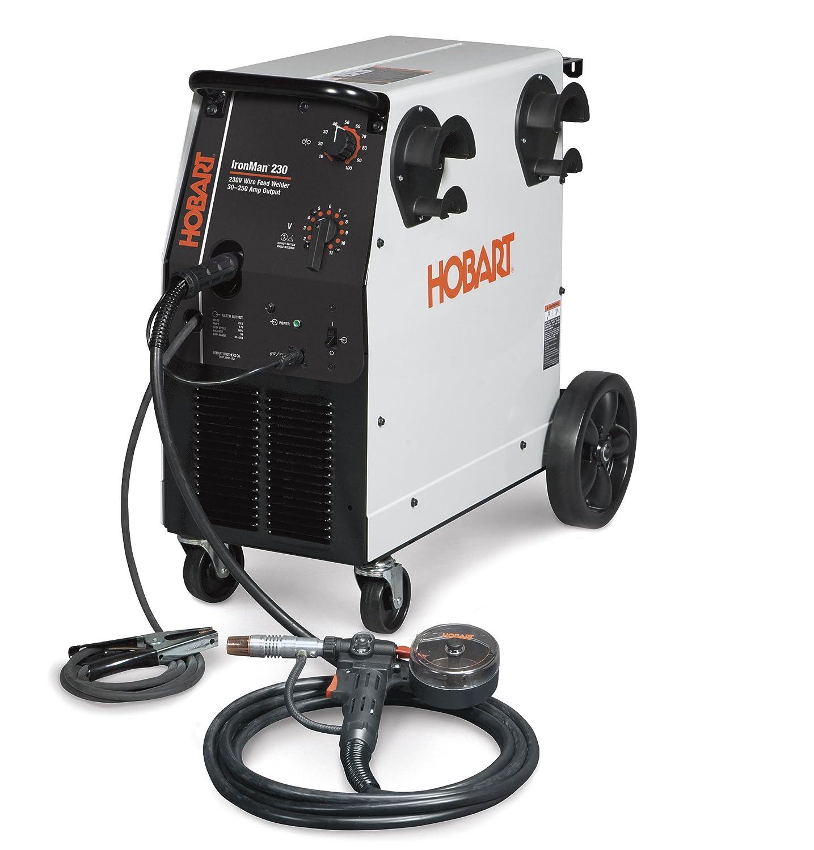Hobart 500536001 Ironman 230 W Dp 3545 20 Spool Gun Arc Welding Marine Ac Generator Wiring Equipment