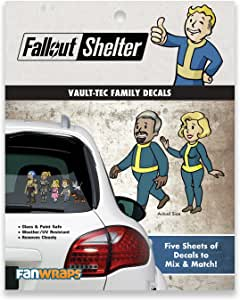 Fallout Vault-Tec Family Decals