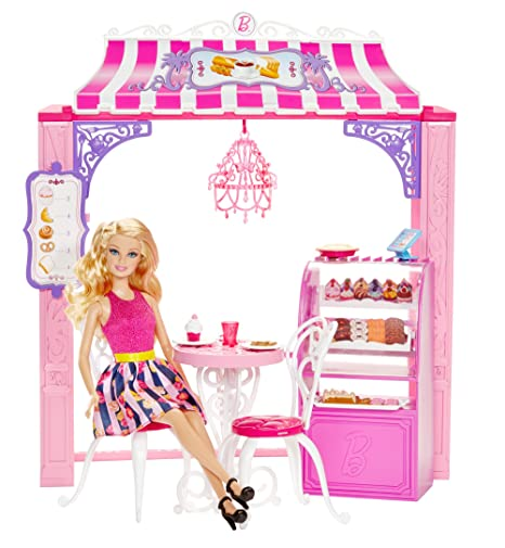 Life Dreamhouse The Malibu And Barbie Playset Bakery Ave Doll In TJFl1cK