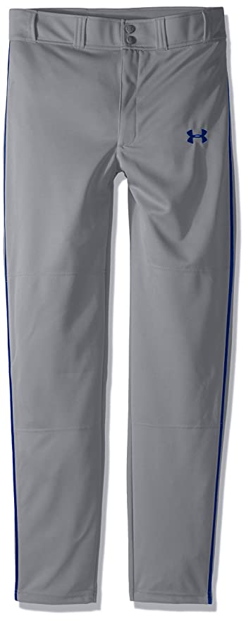 96f750618d40 Amazon.com   Under Armour Boys  Clean Up Piped Baseball Pants ...