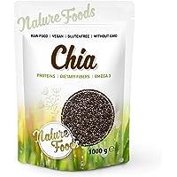 NATUREFOODS Semillas de Chia de Calidad Premium 1kg