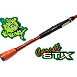 Carrot Stix SPINNING Wild Orange Alpha Fishing Rod