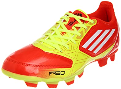 6ed1ff972fa2 adidas Men's F5 TRX FG-M, High Energy/Electricity/White 10.5 D