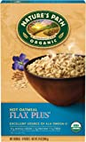 NATURES PATH Hot Flax Oat Organic Cereal, 14 Ounce