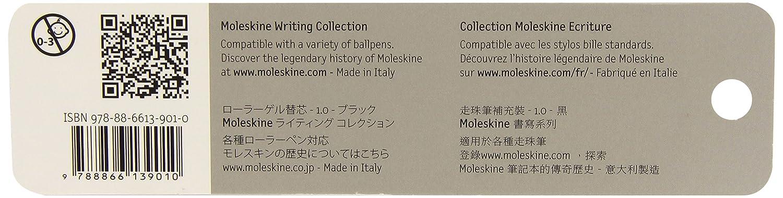 Moleskine Ricarica per Penna a Sfera 1.0 mm Rosso