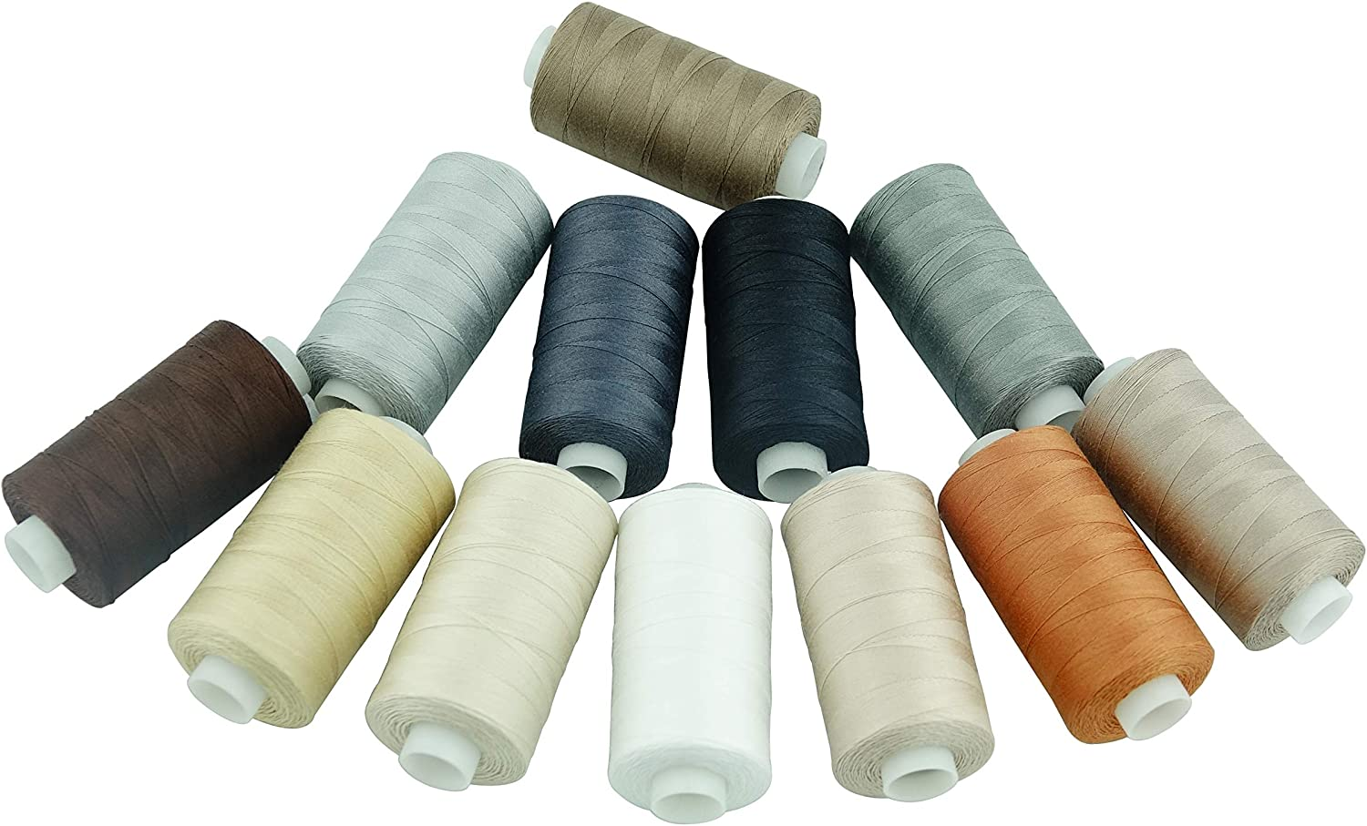 550 Yards Each 20 Colors Simthread 20 Colors All Purposes Cotton Quilting Thread 50s//3 Thread for Piecing Sewing etc