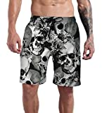 Goodstoworld Men's Cool Swimtrunks Quick Dry 3D Printed Casual Hawaiian Mesh Lining Beach Board Shorts with Pockets S…