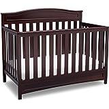Delta Children Emery 4-in-1 Crib, Dark Chocolate