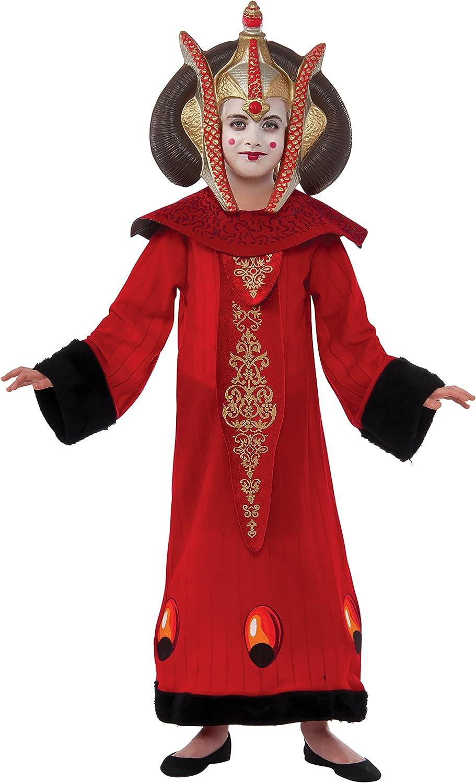 Disfraz de Reina Amidala para niña™ - 5-7 años: Amazon.es: Ropa y ...