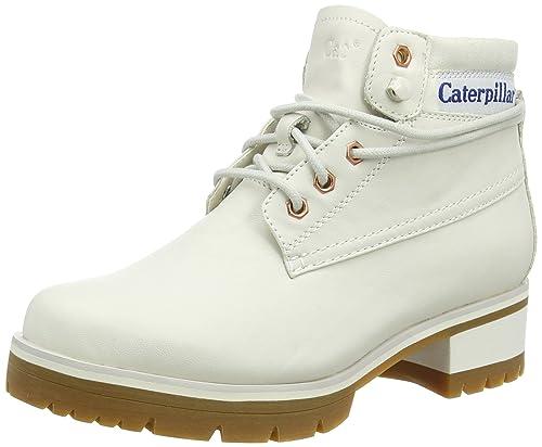 Caterpillar Stopwatch, Botines para Mujer, Blanco, 36 EU: Amazon.es: Zapatos y complementos