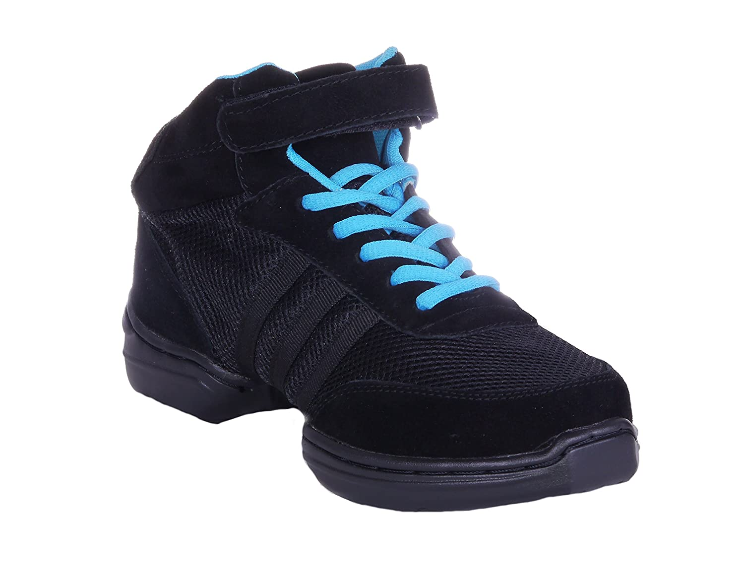 1be3466e1b1 durable service Nene's Collection Women's Dance Fitness Shoes High Top  Sneakers (5.5, Black)
