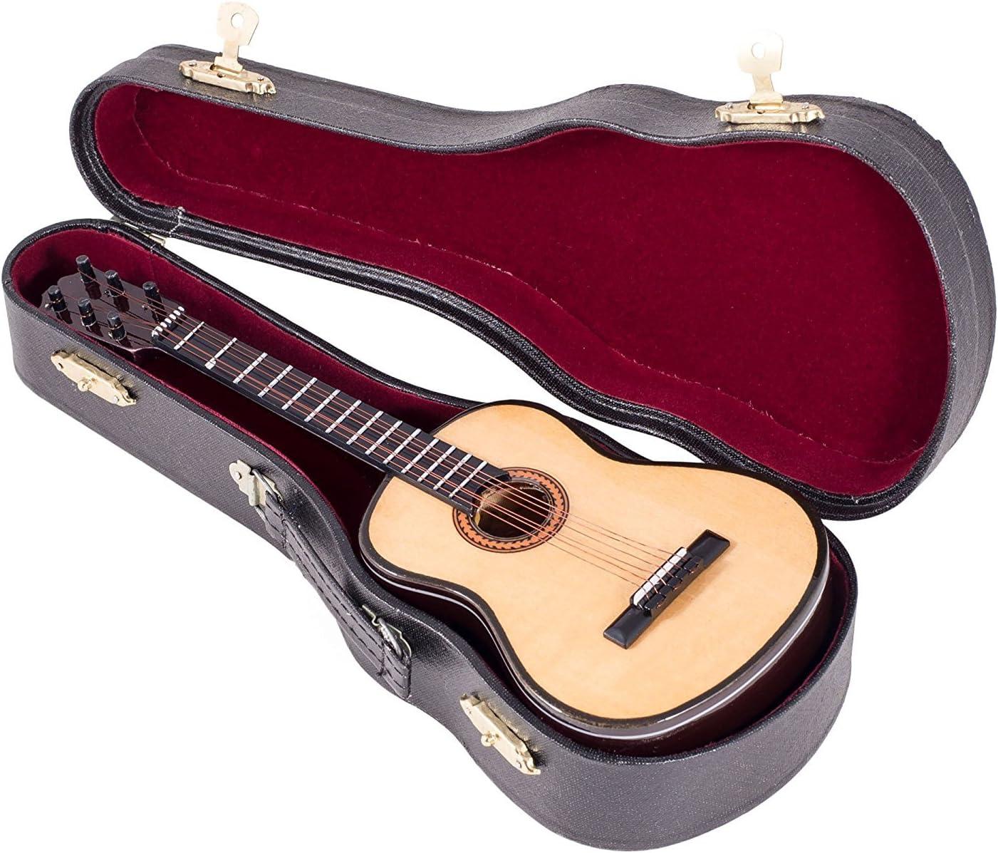 7.1 Inch 3.0 Musical Box Mini Guitar Shaped Rotating Music Box for Wedding 3.0