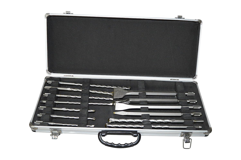 GARTLER PD-02199 - Set di punte per trapano e scalpello SDS