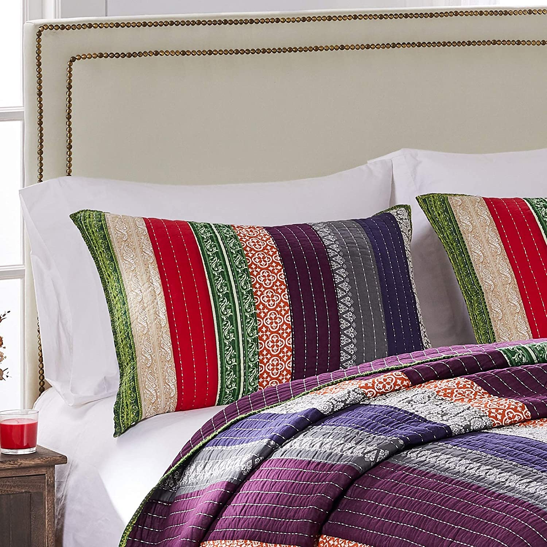 Greenland Home Marley Standard Sham-Multi, Multicolor