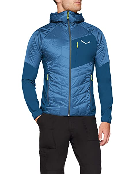 SALEWA Ortles Hybrid Tirolwool Celliant Chaqueta, Hombre
