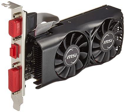 MSI N750TI-2GD5TLP GeForce GTX 750 Ti 2GB GDDR5 - Tarjeta gráfica (GeForce GTX 750 Ti, 2 GB, GDDR5, 128 bit, 4096 x 2160 Pixeles, PCI Express x16 3.0)