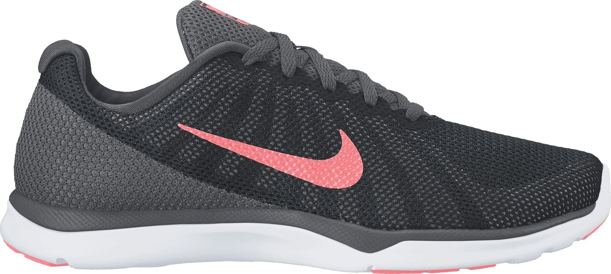 NIKE Women's in-Season TR 6 Cross-Trainer-Shoes, Black/Lava Glow/Dark Grey/White, 9.5 B US