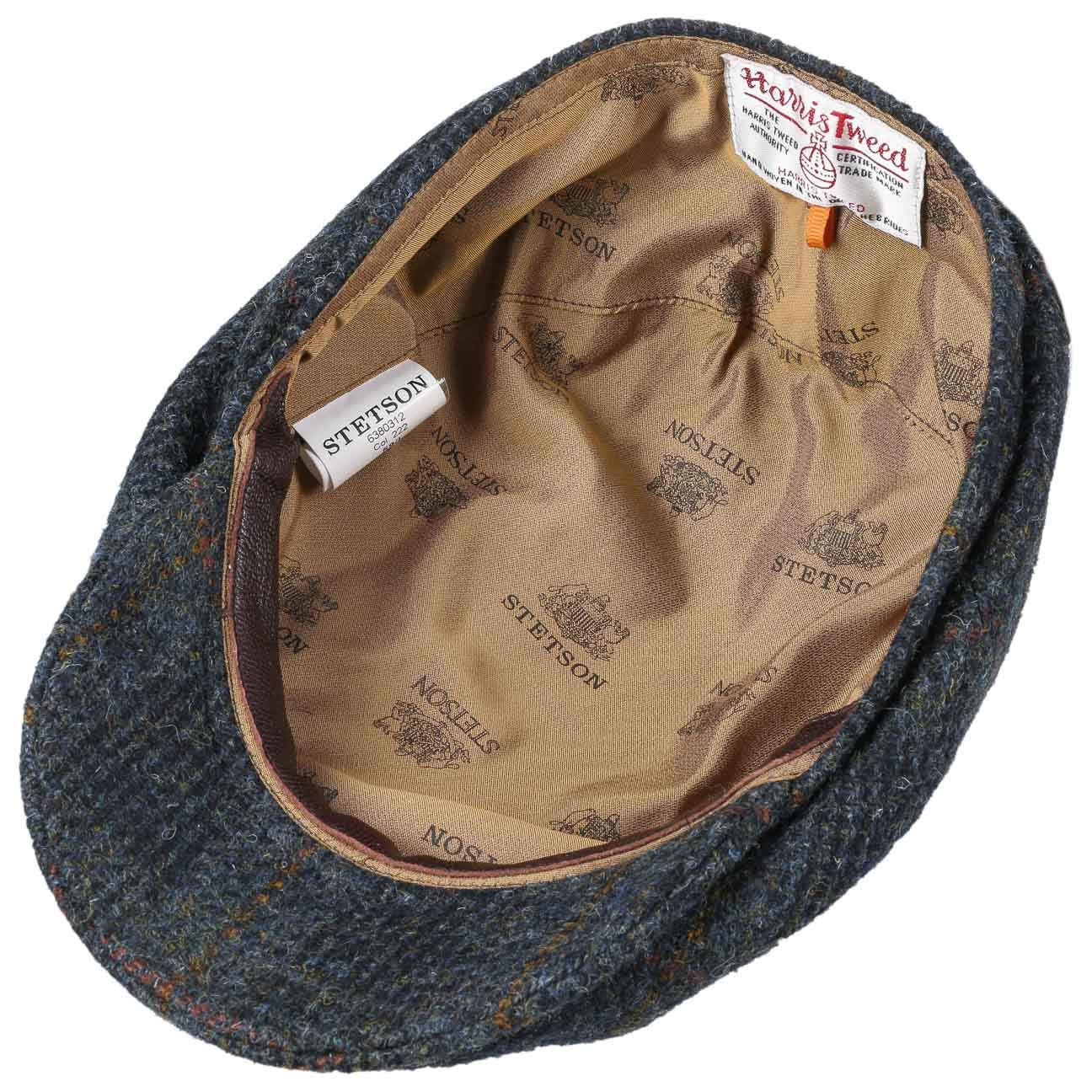 Stetson Harris Tweed Check Flat Cap Men at Amazon Men s Clothing store  b1acad967c88