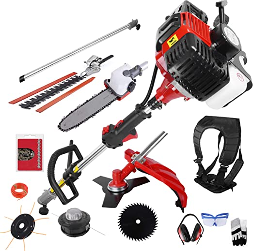 BU-KO 52cc Long Reach Petrol - Multi-Functional Tool Kit
