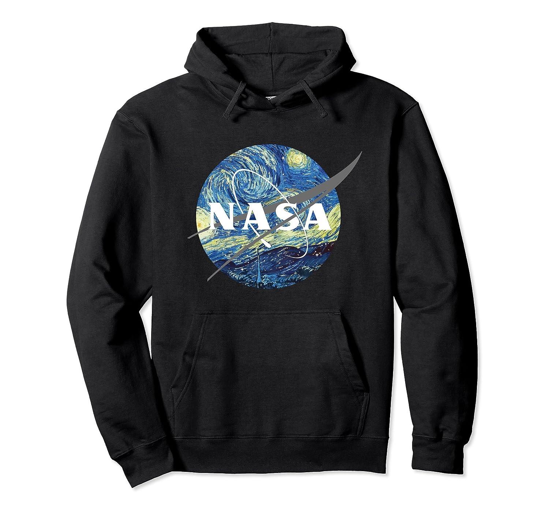 Nasa Starry Night Hoodie – Nasa Van Gogh Style Hoodie-fa