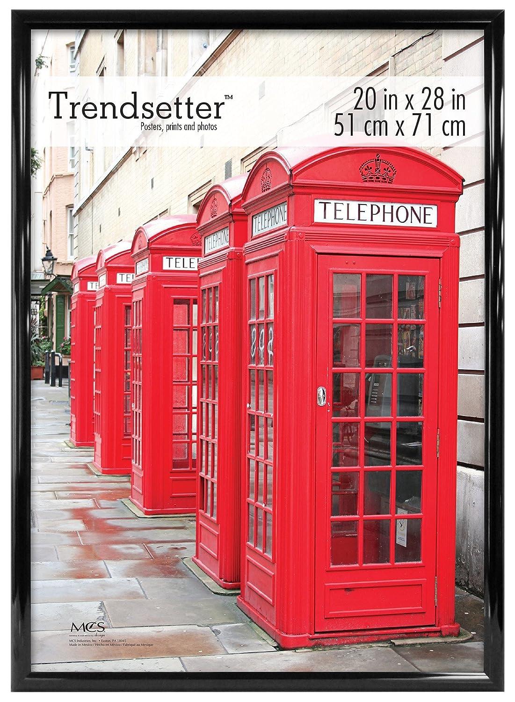 MCS Trendsetter Poster Frame, 20 X 28-Inch, Black MCS Industries Inc. 65676