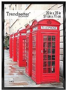 MCS Trendsetter 20x28 Inch Poster Frame, Black (65676)