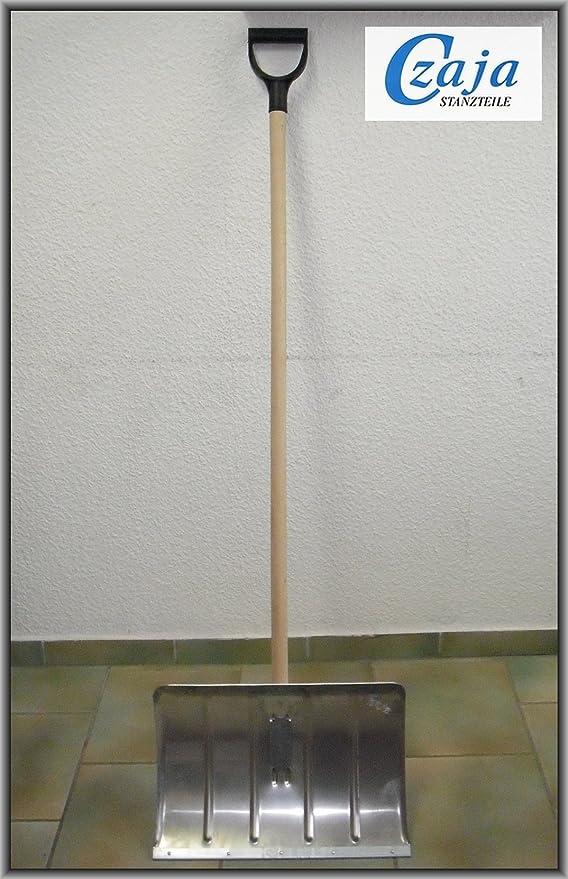 1 opinioni per Pala da neve in alluminio con bordo rinforzato in acciaio e impugnatura a D