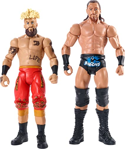 WWE Elite Big Cass /& Enzo Amore Series 49 First Ever Elite Figures