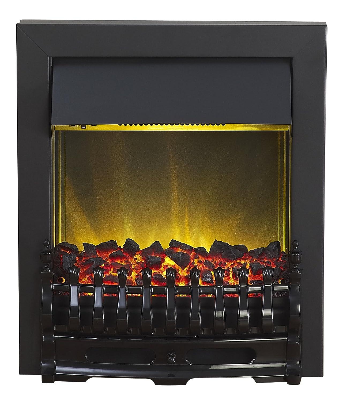 Adam Blenheim Electric Fire in Black