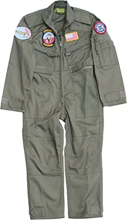 RAF Green Childrens Flying Suit