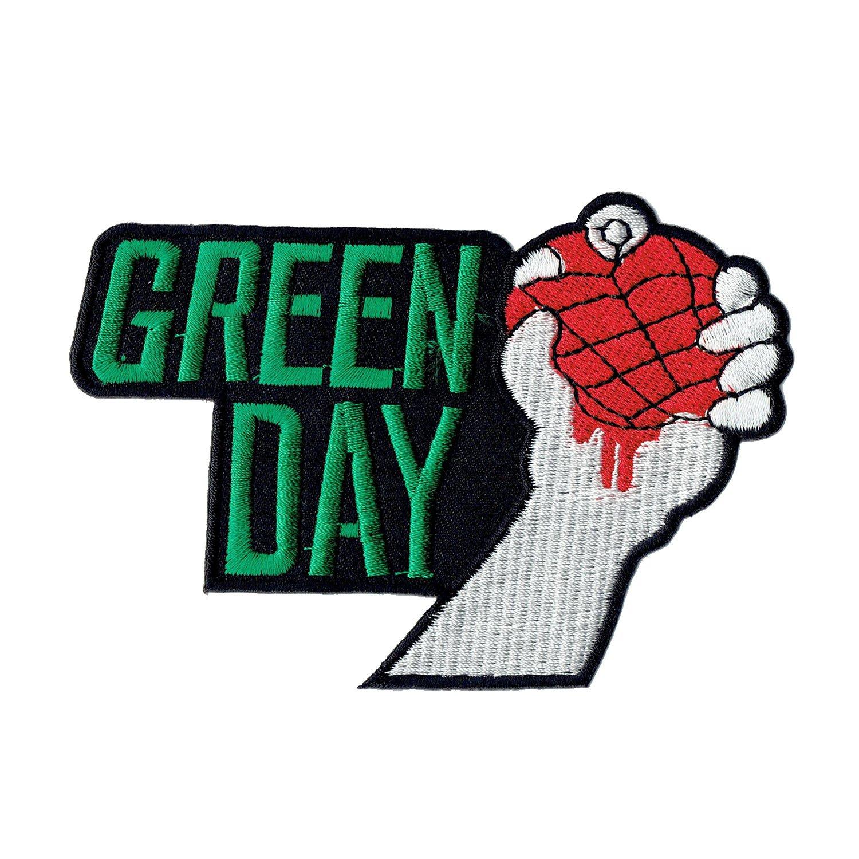 """"""" Green Day """" Iron On Patch RoxxTox x-293"""