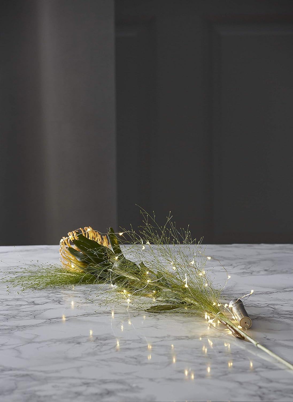 Best Season 728-17 Dew-Drop Flaschenlichterkette 0,1 x 200 x 0,1 cm Metall 40er Silber