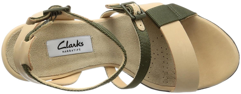 b76a43861a5 Amazon Adesha Clarks Mujer Con Para Sandalias Zapatos es Cuña Art xRRnrd0Ywq