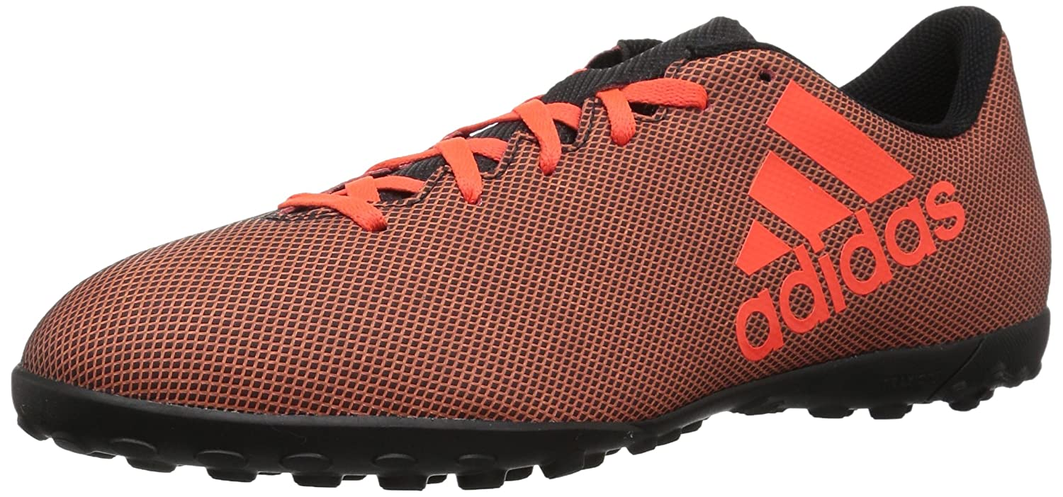 adidas Men's X 17.4 Tf Soccer Shoe B06XWMN4Q9 10.5 D(M) US|Black/Solar Red/Solar Orange