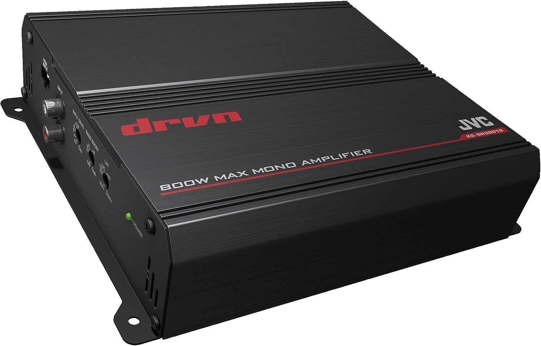 Nero JVC KS-DR3001D Amplificatore per Auto Digitale