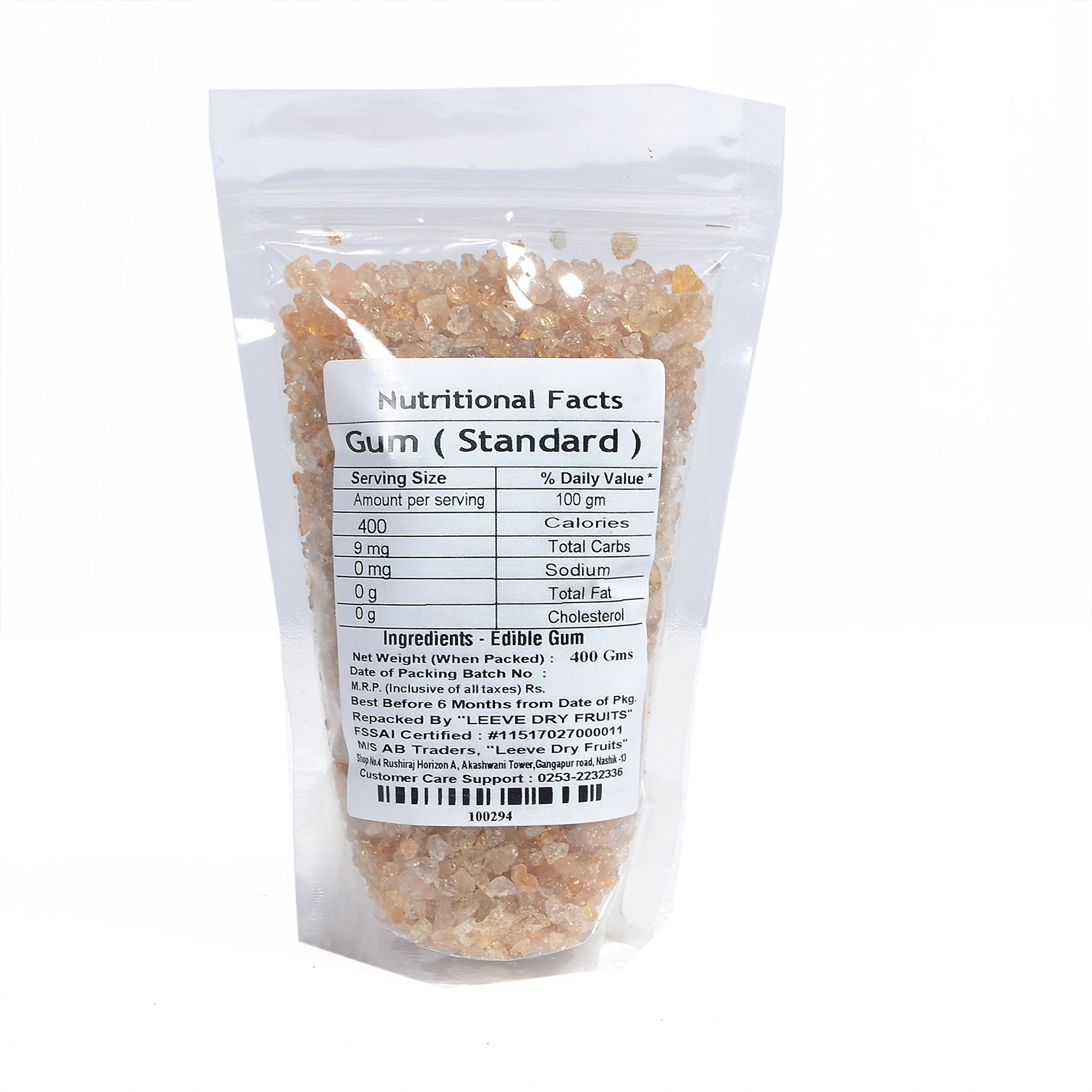 Leeve Dry Fruits Dink - Gond Standard - 400 Grams by Leeve Dry Fruits (Image #2)